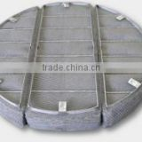 Distillation column/ fractionation column/ used Mesh Pad made in china