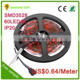 Factory produce 12V 5630 smd rigid led strip ,rgb 5630 led strip,high quality 5630 led strip