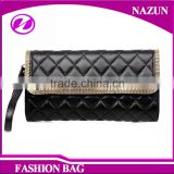 Lady Leather Messenger Bags Fashion Black Stock Bags Purses Clutch Bags