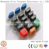 OEM Silicon Rubber Keypad and Keyboard / PCB Membrane Switch