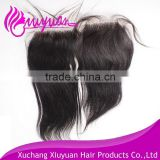 Discount fashionable full cuticle virgin malaysian human double straight lace front closure
