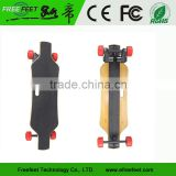 2016 Hot Sale 1800W Dual Motor Electric Longboard, Freefeet Electric Skateboard With Wireless Control