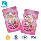 Colorful security child resistant packaging bag for pudding