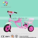 2016 Two Seats Baby Tricycle, Baby Twins Tricycle, Twin Baby Tricycle