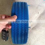"10""*4.10/3.50-4pu foam tire for boat trailer"
