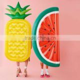 Hot Selling Inflatable Watermelon/pineapple Pool Float