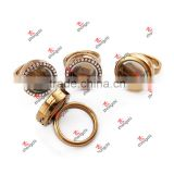 Alloy Stock Supply Floating Lockets/Glass Memory Locket Ring (SFL51024)