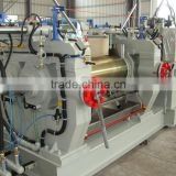 two roll open mixing mill rubber machinery price