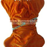 Hot sale Organic Bamboo Velour fitted baby Cloth diaper