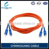 UPC/APC/PC single/multi mode SC-SC/FC/ST/LC/MU/E2000/DIN/MTRJ fiber optic patch cord price