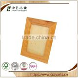 Big customers cooperation good quality Accept OEM rustic hinging oil painting guitar shaped wooden photo frame