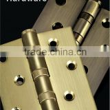 2016 Hot Selling high quality ball bearing stainless steel door hinge for door and wooden door hinge