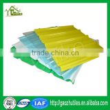 0.8mm anti-ageing high strengh colored colorful fiberglass chopped strands for frp sheet for greenhouse skylight