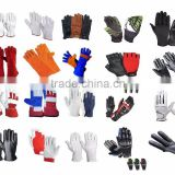Safety Gloves, leather gloves, Industrial gloves, Assembly gloves, Mechanic gloves, Polic & pilot gloves, Cotton & garden gloves