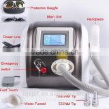 Pigmented Lesions Treatment F12 Medical Laser Surgical Laser Machine / Q Switch Nd Yag Laser Tattoo Removal System /all Pigment Removal Yag Mongolian Spots Removal