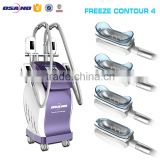 Body Contouring Latest Products In Market 4 Simultaneous Fat Melting Handpieces Weight Loss Slim Cryolipolysis Machine Fat Freezing