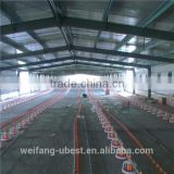 hot sale chinese steel structure building prefab chicken farm