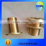 China boat thru hull bronze rudder port stainless steel marine yacht thru hull plastic nylon rudder port