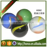 Valuable Supplier solid glass marbles with thre colour with quick delivery HC 902