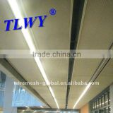 Decorative expanded metal mesh for ceiling