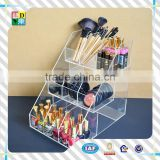 2015 High quality clear acrylic cosmetic drawer organizer,modern design popular acrylic makeup container from China low price