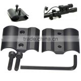 QQ06 Double ring Rifle scope mounts For Flashlight