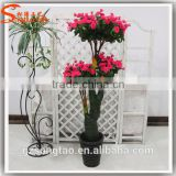 guangzhou wholesale cheap flower rose tree in artificial trees house for wedding decorative