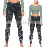 Fitness Yoga Wear Women Sport Wear Clothing Cheap Wholesale Plain Dyed Crop Yoga Tops with Leggings