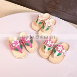 2016 new summer baby shoe fashion baby flip flop slipper cute baby summer sandal