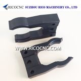 HSK-A|E|F 63 and SK 40 Tool Changer Grippers Elastic Tool Fork Clips for ATC Tool Magazine