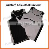 Runtowell 2013 high quality basketball uniforms / basketball jersey color purple / basketball jersey names