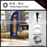 2016 Totem flag can be OEM/ODM Promotion Feather Flag and teardrop banner flags/Fiberglass pole flying banner