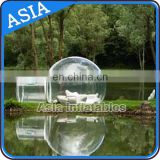 Special design High Definition logo novelty Canopy Inflatable Tent For Camping / inflatable clear bubble tent