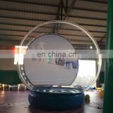 Hot sale inflatable snow globe tent ,outdoor christmas snow globe, inflatable snow bubble ball for sale