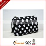 300D Polyester plain fashion cosmetic bag