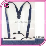 Latest design denim suspender,Jeans suspender,fabric suspender