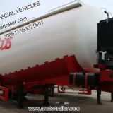 30/40/50/60 m3/Cbm dry bulk powder/Cement Tanker Trailer with Q235 material