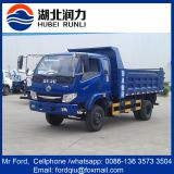 dongfeng mini sand dumper truck for sale 5 ton volume sand tipper truck