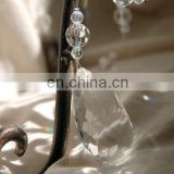 Wedding Clear Crystal Beaded Acrylic Garland