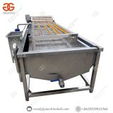 Contibuously Leafy Vegetable Fruit Lettuce Vegetable Cleaning Equipment
