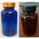 Amber  Pet Plastic Cylinder Medical Pill bottle /Blue Capsule Bottle Fob Reference Price