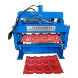 Africa hot design metal roofing double layer glazed tile forming machine