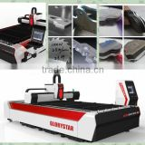 Dongguan laser IPG ROFIN 1KW fiber sheet metal laser cutting machine price for craft gifts