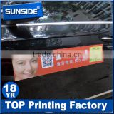 High quality car magnet sticker for advertising,fridge sticker printing D-064