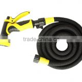 25' 50' 75' 100' Expanding Hose Strongest Expandable Garden Hose Solid Brass Ends Double Latex Core Extra Strength Fabric 2016