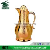 OEM top selling kettle , lead free glass tea kettle,glass lined flask,