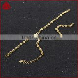 14 Inch Wholesales High Quality Cable Chain Stainless Steel Mens Jewelry Figaro Chains Link Necklace