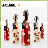 china top ten selling products high quality glass ink bottle whoelsale