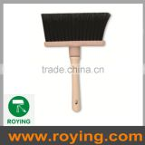 floor cleaning broom sweeping nylon brush with wooden handle