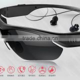 2015 new coming multi-function sport smart bluetooth sunglasses